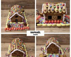 Concours « Maisons en pain d'épices »  Création  de Raphaël, enfant rêveur du Gard - 3ème prix du concours