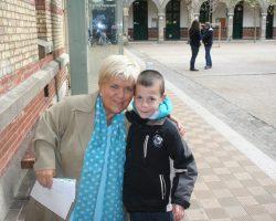 Dylan a rencontré Mimie Maty octobre 2008