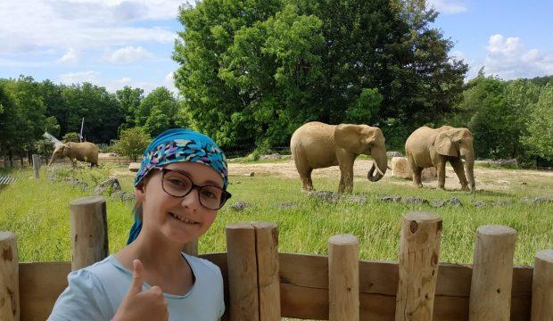 Lucie a fait un séjour au zoo