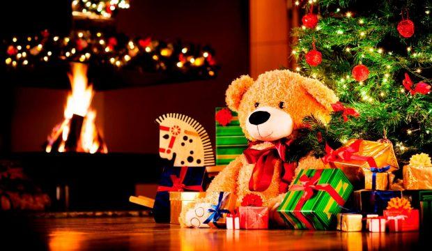 Jaimy a reçu des jouets pour Noël