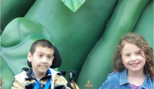 Djibril a séjourné au Parc Disneyland Paris