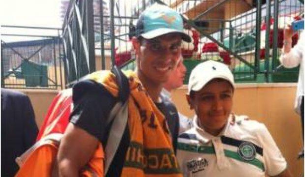 Yanis a rencontré Rafael Nadal