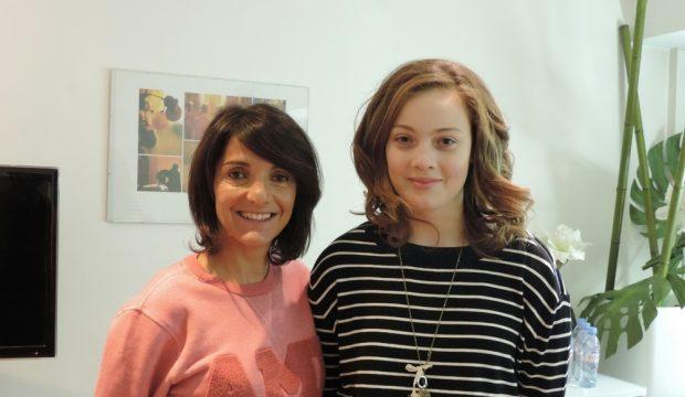 Julie a rencontré Florence Foresti et assisté à son spectacle