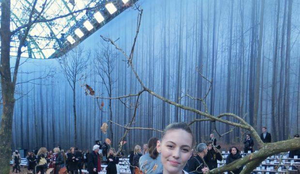Capucine au défilé Chanel