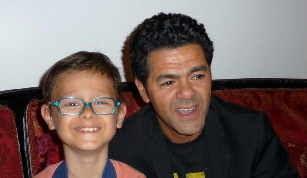 Solal a rencontré Jamel Debouzze et a assisté au Marrakech du Rire