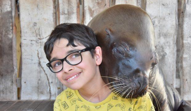 Thomas a rencontré un soigneur animalier