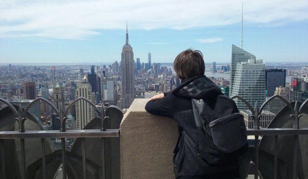 Evan a découvert New York