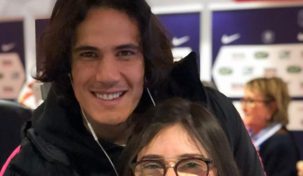 Francesca a rencontré les joueurs du PSG et a assisté à un match