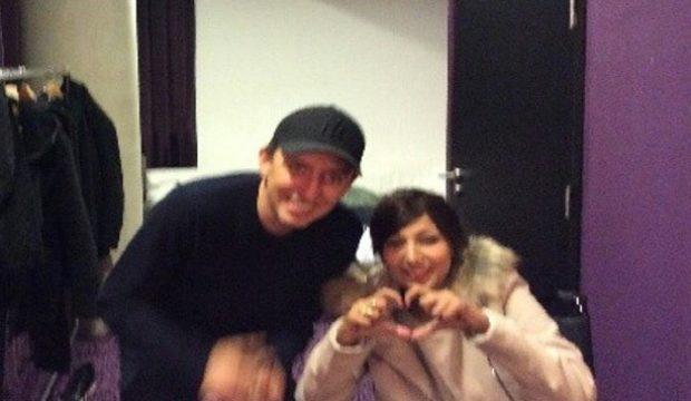 Sabrina a rencontré Gad Elmaleh et assisté à son spectacle