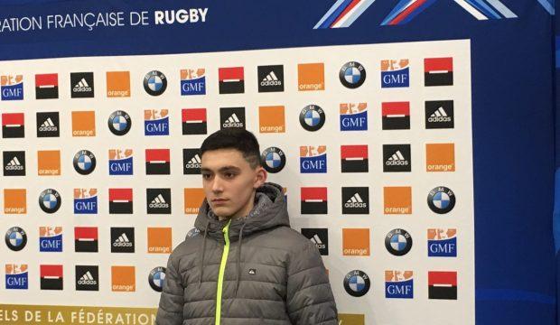 Lucas & l'équipe de France de Rugby