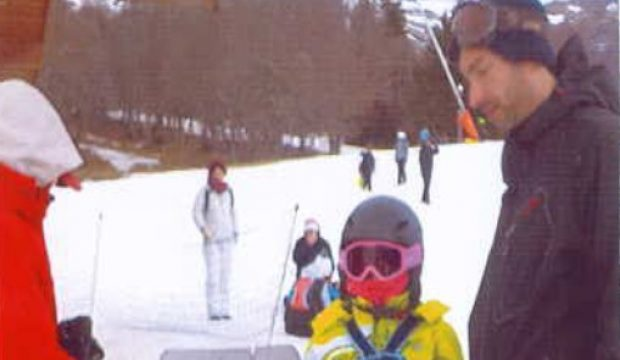Justine a fait un séjour au ski en famille