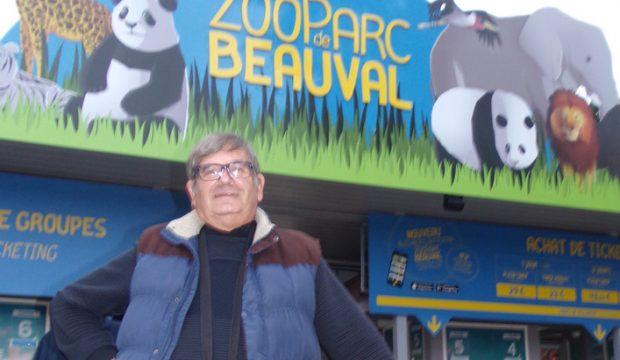 Celian a passé une journée avec les soigneurs du zoo de Beauval