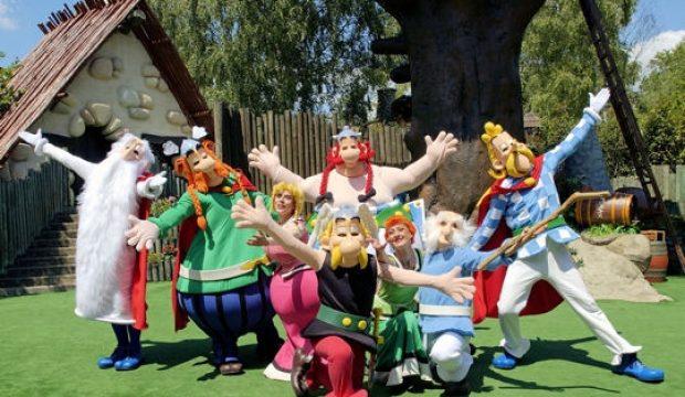 Thibaut a fait un séjour au Parc Asterix en famille