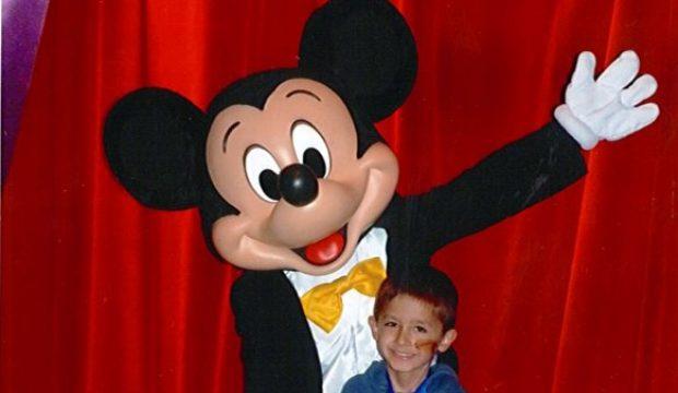 Ethan a séjourné au Parc Disneyland Paris