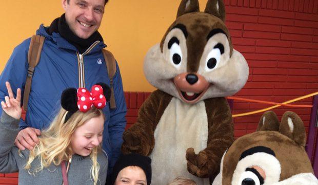 Paul-Andréa a séjourné au Parc Disneyland Paris