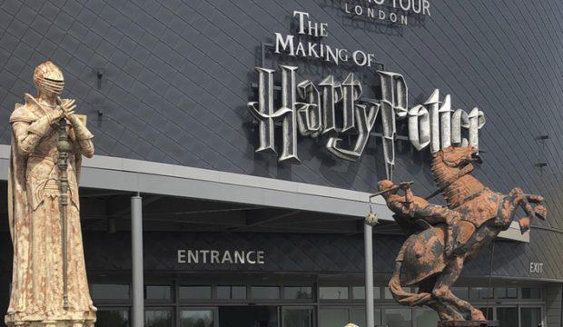 Philomène a visité les studios Harry Potter