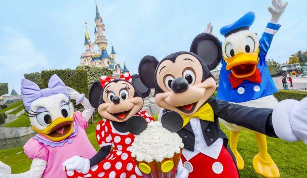 Romane a séjourné au Parc Disneyland Paris