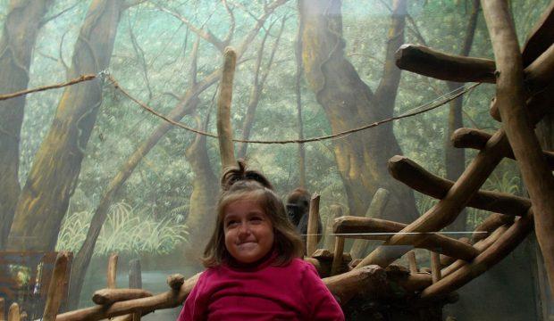 ELYSE Elyse au zoo d'Amnéville en famille