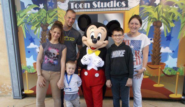 Malo à la découverte de Disneyland Paris