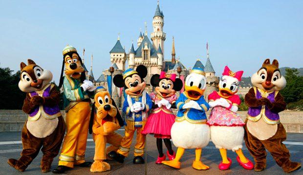 Thomas a séjourné au Parc Disneyland Paris