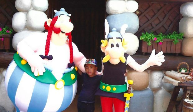 Téo Teo a rencontré Astérix et Obélix