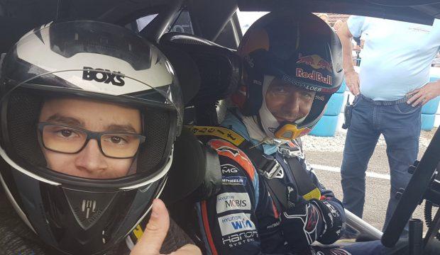 Enzo a rencontré Sébastien Loeb