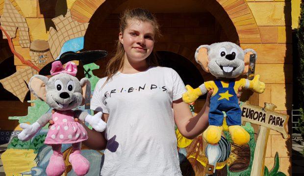 Gwendoline a fait un séjour à Europa Park avec sa famille