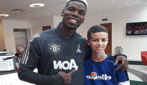 Iliès a rencontré Paul Pogba