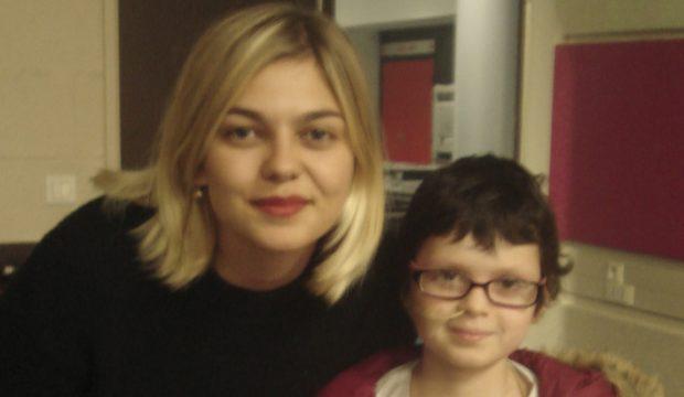 Louane a rencontré la chanteuse Louane
