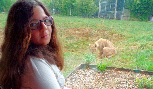 Océane a fait un séjour au zoo de Cerza