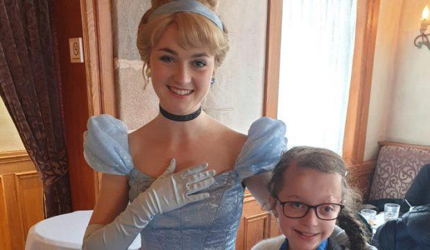 Lilou a séjourné au parc Disneyland Paris