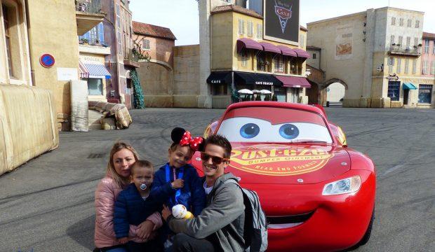 Lana à Disneyland Paris