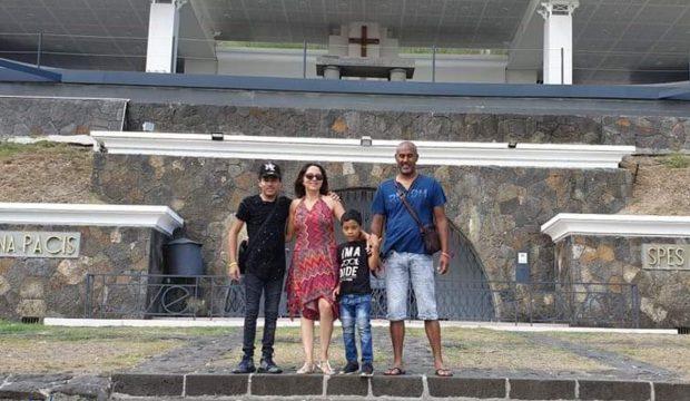 Dany Charles a fait un séjour à l'île Maurice