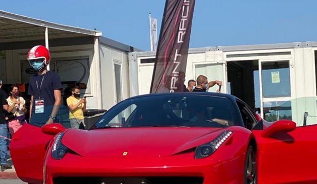 Hadrien a fait un tour de voiture de sport
