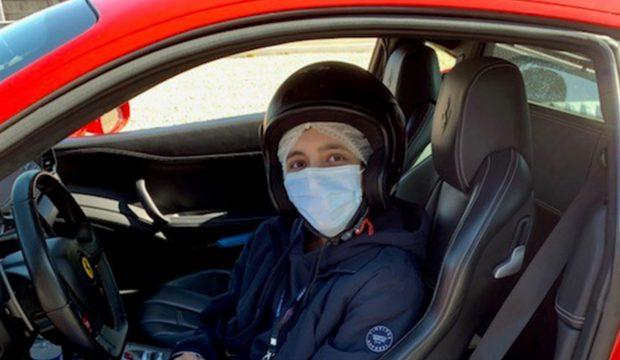 Marwaan co-pilote de Ferrari !