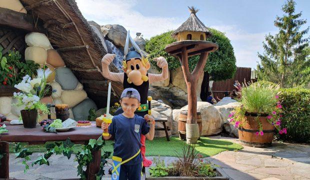 Liam a fait un séjour au Parc Astérix
