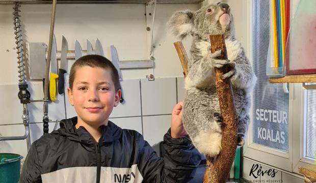 Jean a fait un séjour au zoo de Beauval