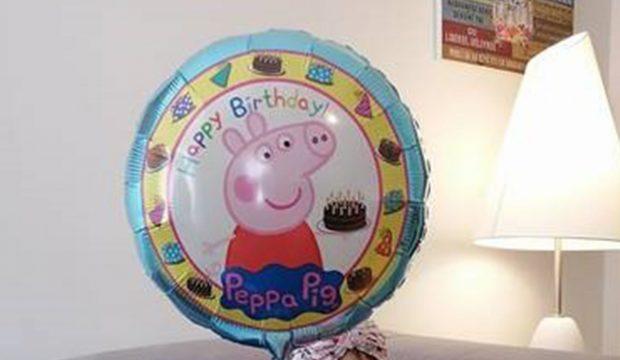 Ambre a rencontré Peppa Pig